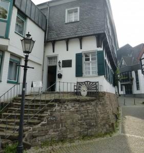 Eingang zum Tersteegenhaus