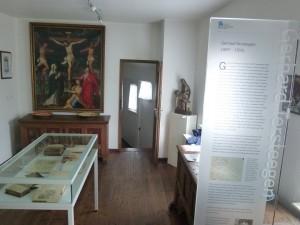 Tersteegenzimmer mit Info-Stele