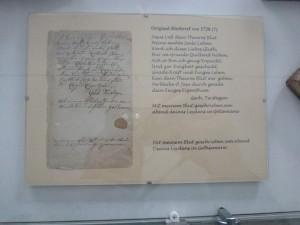 """Die """"Blutbriefe"""" von Tersteegen"""