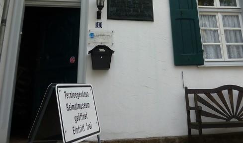 Eingang Heimatmuseum Tersteegenhaus