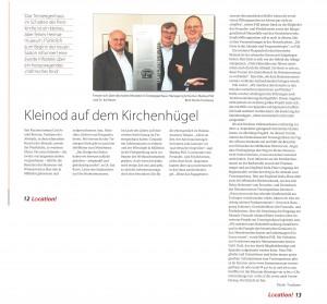 """Veröffentlichung in """"Location ! -Mülheimer Magazin"""
